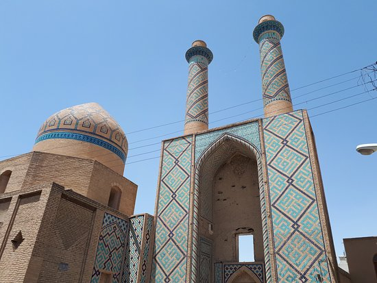 The Historical Monument in Isfahan