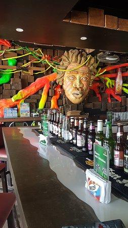 Red Coconut Beach Restaurant: COCO bar