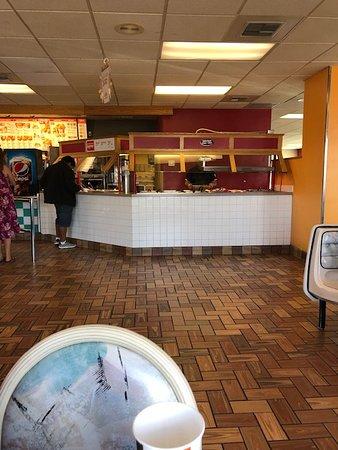 KFC: Buffet area