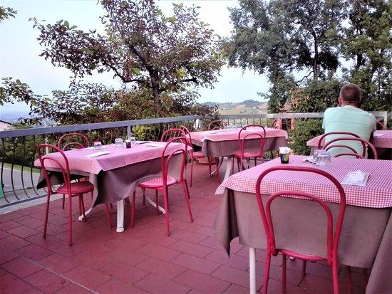 Prignano Sulla Secchia, Italia: Terrazza panoramica
