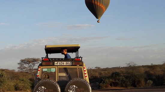 Serengeti National park  Balloon safari in Serengeti