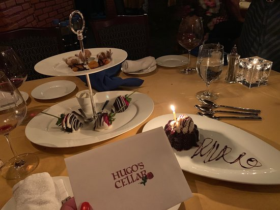 Hugo S Cellar Las Vegas Downtown Menu Prices
