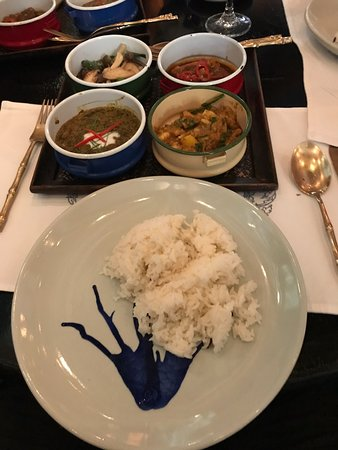 If this is how Thai royalty eat I need to find a princess! Amazing!