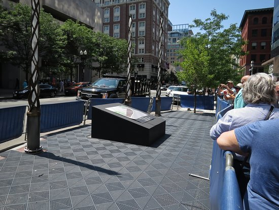 Boston Marathon Survivor Memorial