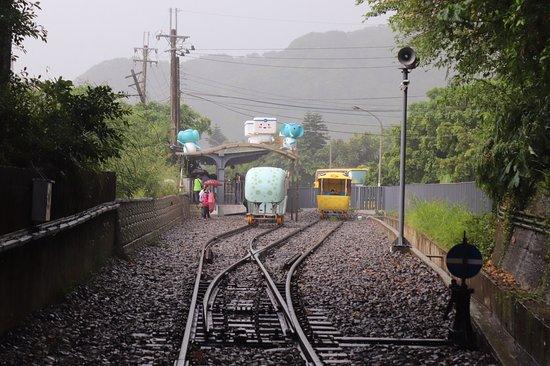 Shen′ao Rail Bike : 深澳鐵道自行車