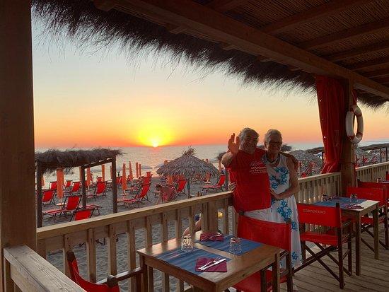 Bagno Cormorano: Un fantastico tramonto