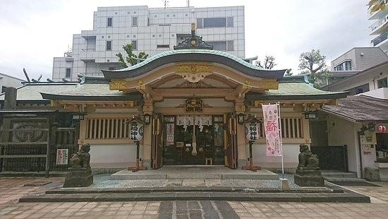 Takanawa Shrine: 高輪神社本殿