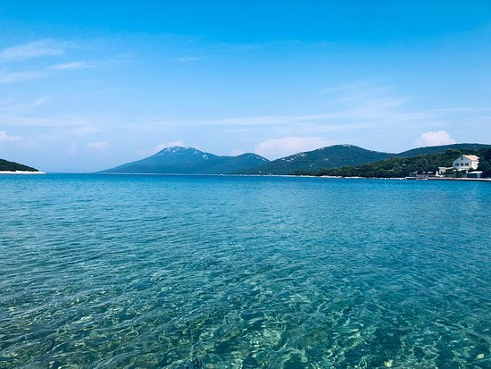Lošinj Island, Kroatia: The best beach on the island!
