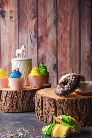 Cupcakes and Doughnnuts - No one can eat just one!