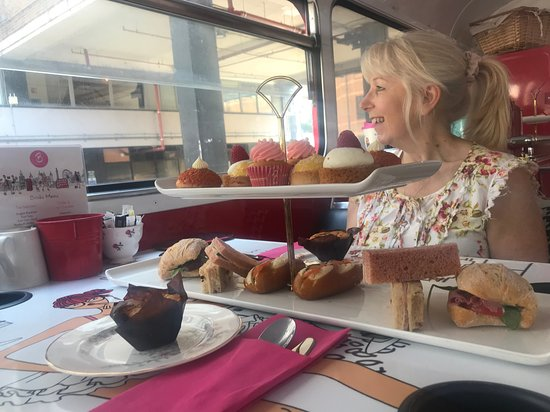 Brigit's Afternoon Tea Bus: Sandwiches and treats!