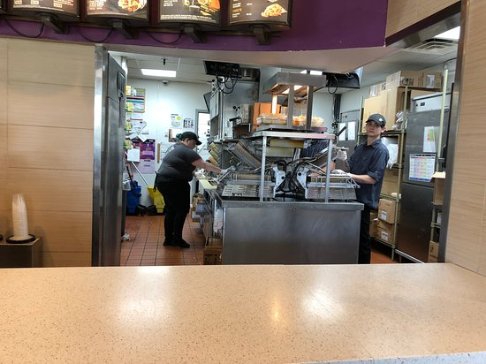 Taco Bell Kitchen Picture Of Taco Bell Fairport Tripadvisor
