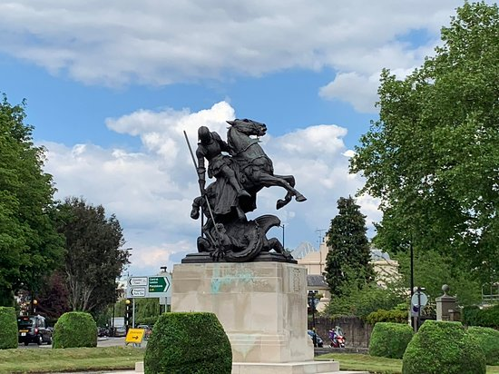 St George and the Dragon Statue
