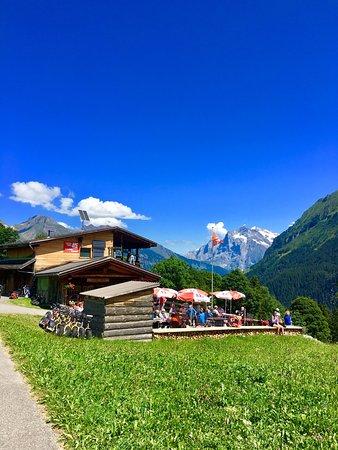 Isenfluh, Sveits: Sulwaldstübli