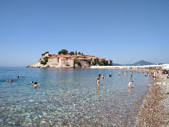 Sveti Stefan Beach