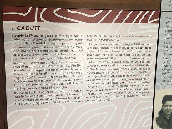 """Ecomuseo della Resistenza """"Carlo Mastri"""""""