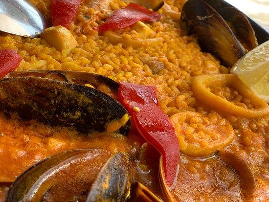 El Cabo de Gata, Spanien: La mejor paella de la zona