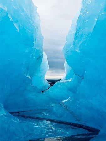 Crystal Ice Cave Tour from Jokulsarlon Glacier Lagoon: Crevasse