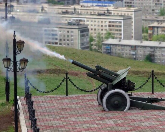 Signal Gun on Karaulnaya Gora