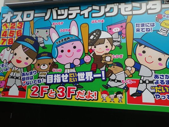 Oslo Batting Center Tachikawa