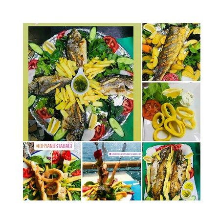 Zengin Taze Balık menüsüyle siz değerli misafirlerimizi bekleriz.