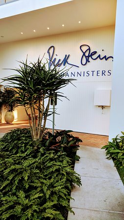 The entrance to the wonderful Rick Stein's restaurant at Port Stephens.