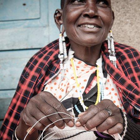 Our beaders in Arusha, Tanzania