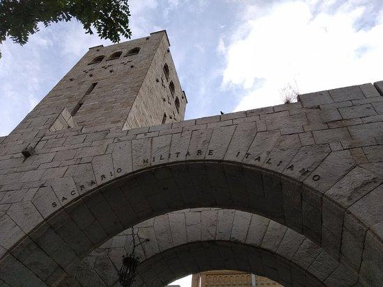 Torre de los Italianos - Sacrario militare italiano
