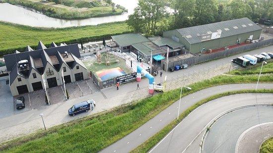 Beverwijk, Nederland: Boven aanzicht van Vuurlinie events