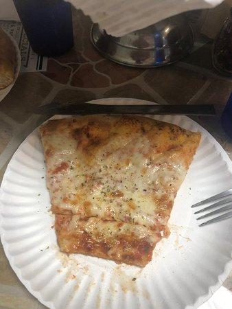 Fresh Salad Good Pizza