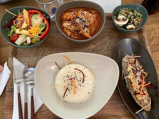 very good fresh food - Fusion Kitchen
