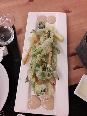 tampura de légumes