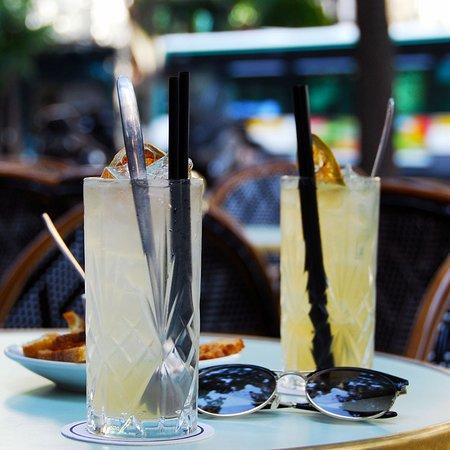 Cocktails en terrasse