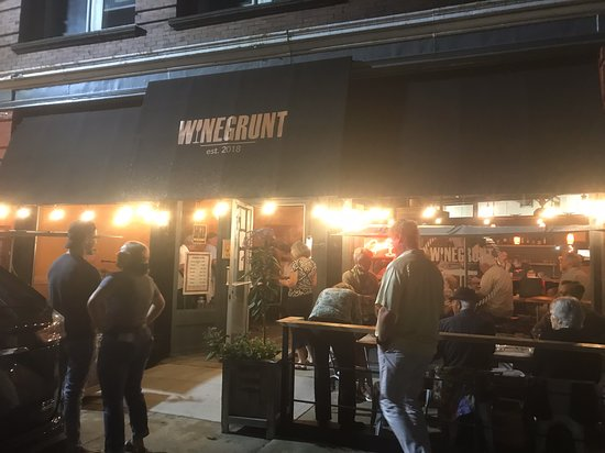 """Saturday night at Winegrunt! Great jazz players paired with great food and wine makes for a great evening at """"the heart of the Windsor strip!"""""""