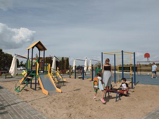 Volgograd Oblast, روسيا: Детская площадка