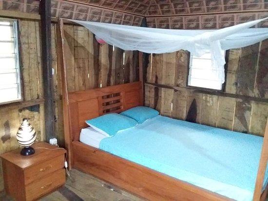 Abomey-Calavi, Benin: Chambre offrant une vue sur le lac nokoue www.voyageafriquebenin.org
