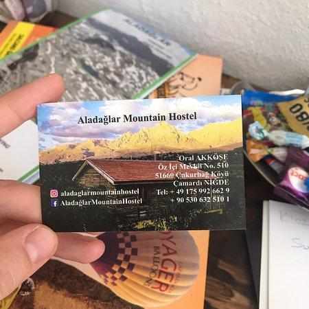 Cukurbag, Tyrkia: Mountain Aladaglar Hostel