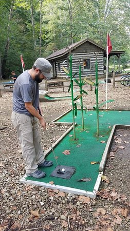 Great mini golf (and only $3.50) despite needing a little bit of repairs.