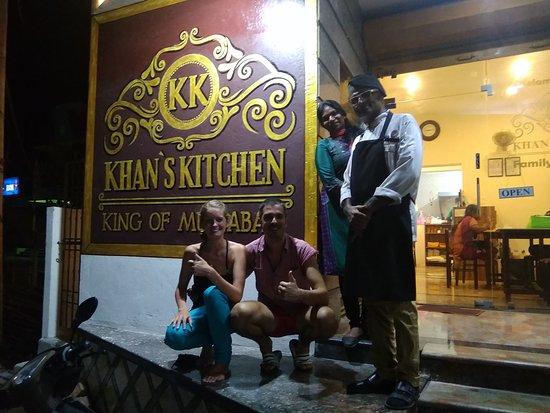 Kottakuppam, India: Khan's Kitchen