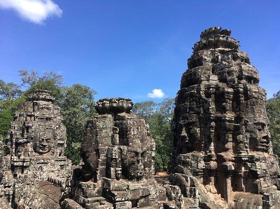 Bayon Temple: 'Smiling Buddha'