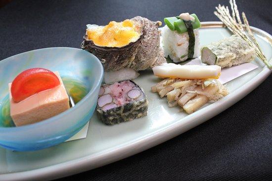 Kaisekiryoritoyokan: 9月の前菜です。