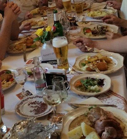 Neustadt am Rennsteig, เยอรมนี: Abendessen