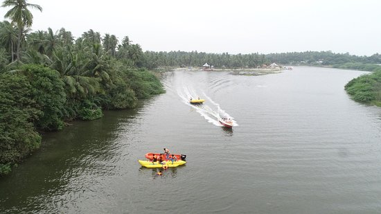 Edayarpalayam, India: PONDY OCEAN PARK - India's First Adventure Park with Water and Land Adventure together at one place. We proudly offer more than thirty-five exciting, unique activities including sixteen water sports. This ensemble with sough-after activities such as jet-skiing, Skywalk, Zorb Roller, combined with various beach and evening activities is unheard of in India. The joy at the Pondy Ocean Park is infectious and will be etched in your memory. Why haven't you yet visited us?