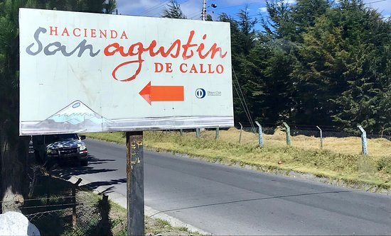 Lasso, Ecuador: Stopped by for lunch