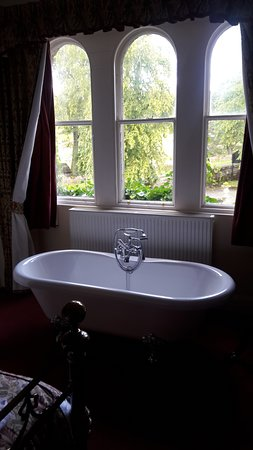 Alston, UK: A lovely feature of the Suite bedroom....