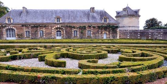 Balleroy, Prancis: Jardin à la Française