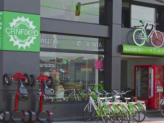 Eco-Logica (Segway & Bicicleta): Nuestra tienda