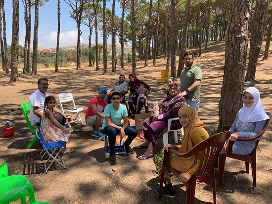 Niha, Liban: رحلة مع الاهل الى جبل نيحا وباتر ومرستي في الشوف