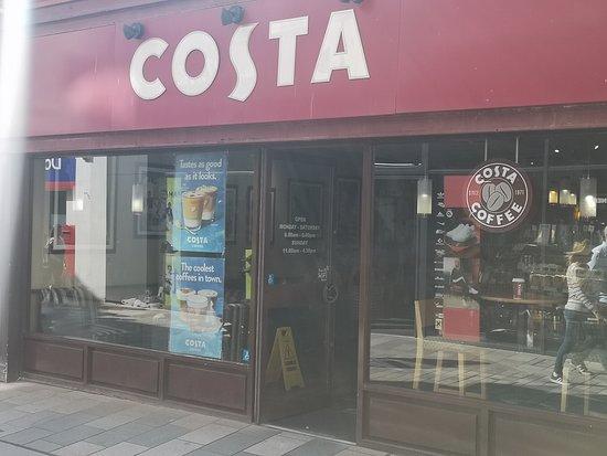 Costa Coffee Douglas 21 25 Strand St Restaurant Reviews