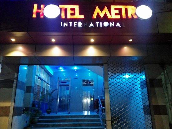 Hotel Metro International: Hotel Front