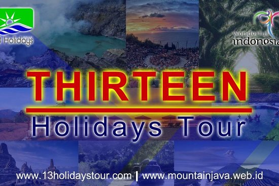 THIRTEEN Holidays Tour
